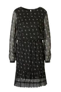 VERO MODA gebloemde jurk met kanten details