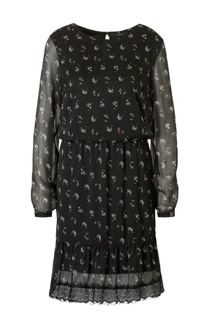gebloemde MODA kanten met jurk VERO details d5xpFd