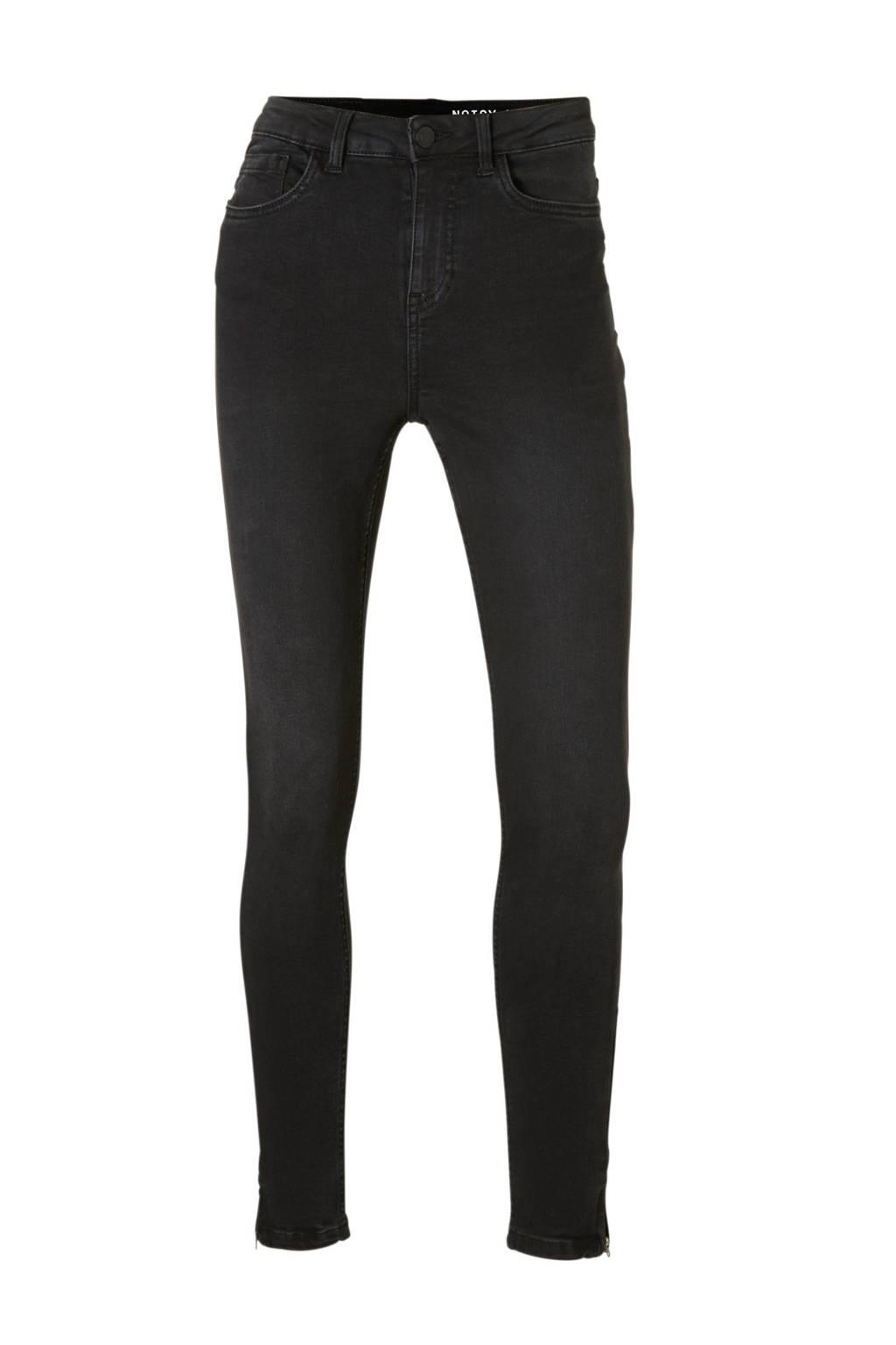Noisy may skinny jeans, Zwart