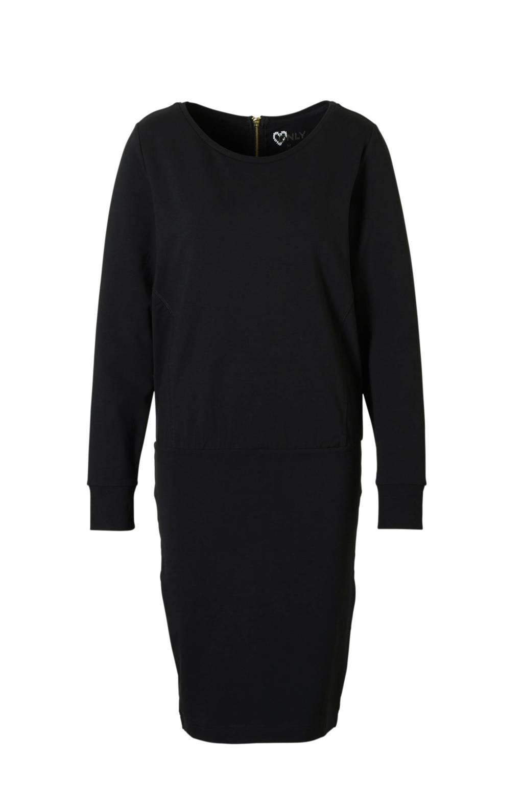 ONLY jurk Laura, Zwart