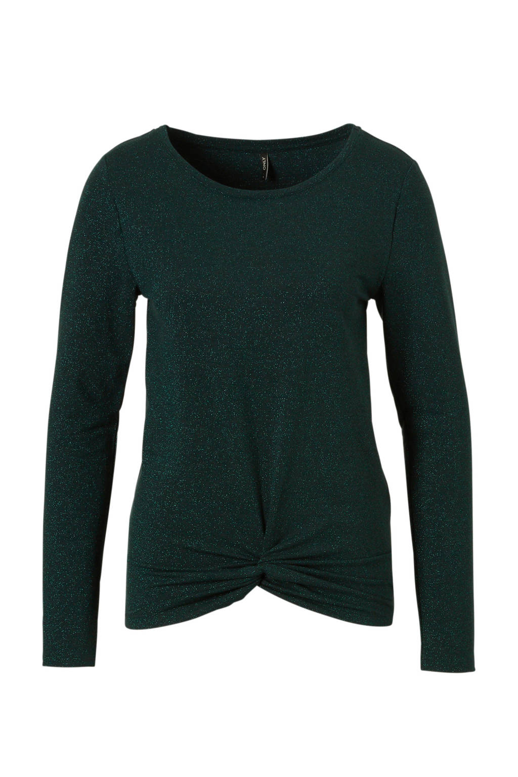 ONLY glitter top, Groen