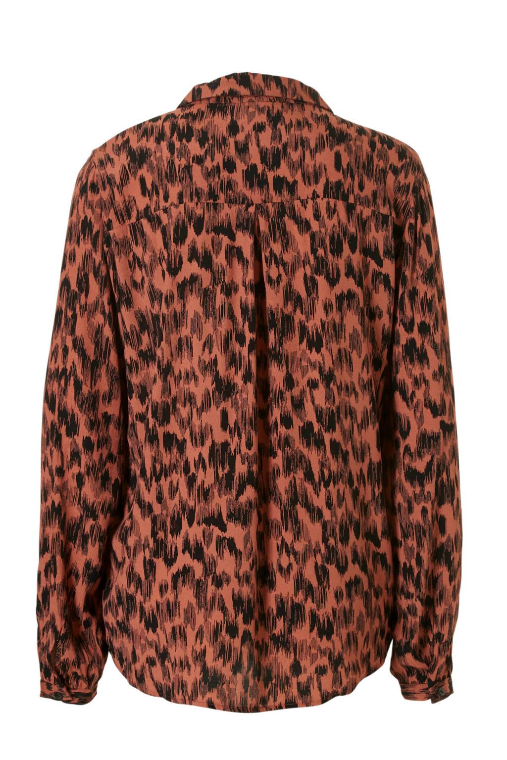 lagere prijs met website voor korting beste authentiek VILA blouse met panterprint | wehkamp
