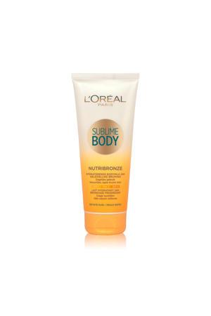 Sublime Body Nutribronze hydraterende bodymilk - getinte huid