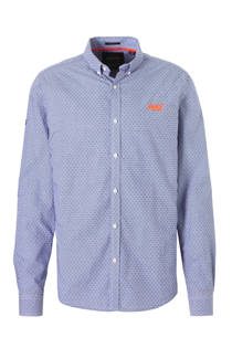 Superdry slim fit overhemd (heren)