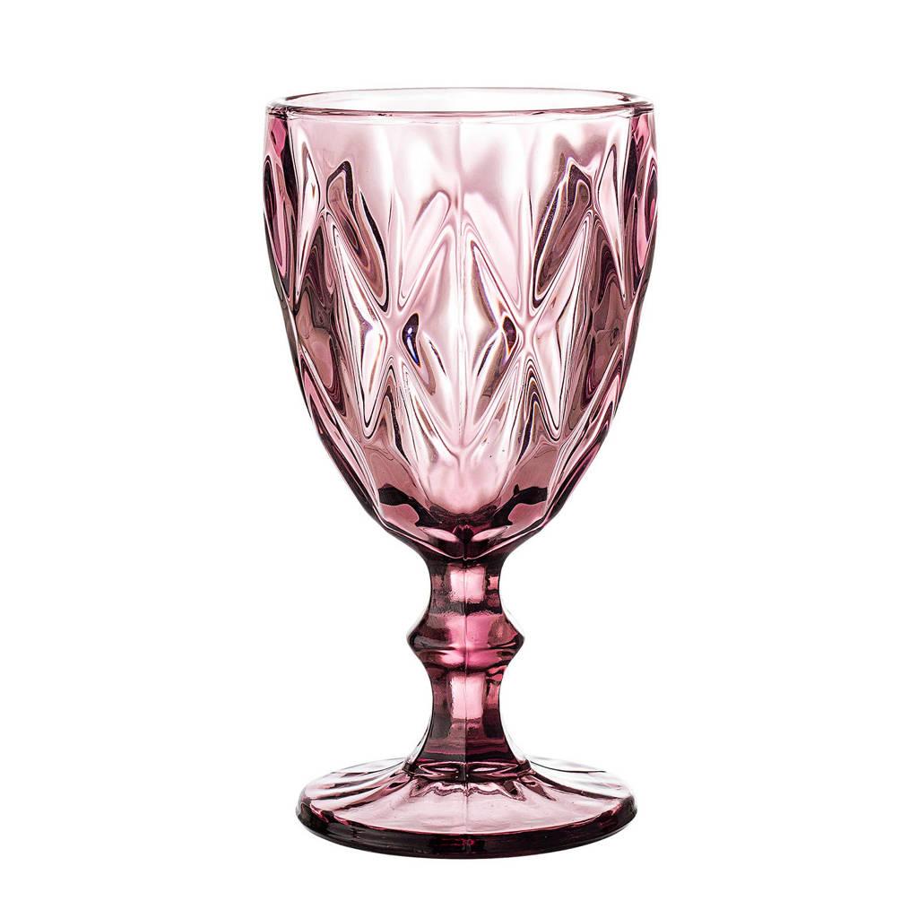 Bloomingville wijnglas (Ø9 cm), Paars