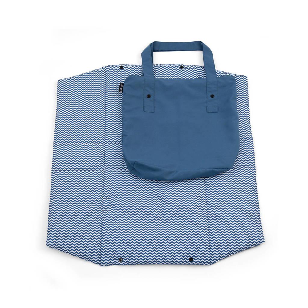 KipKep speelmatje met verzorgingstas ziggy blue, Ziggy blue
