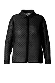 blouse met stip dessin