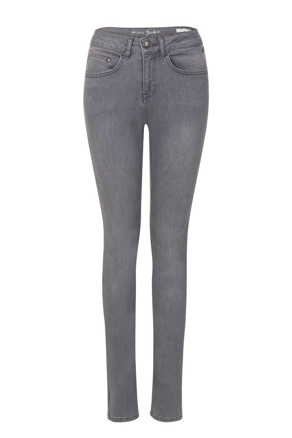 Miss Etam Regulier slim fit jeans grijs lengtemaat 36, Grijs