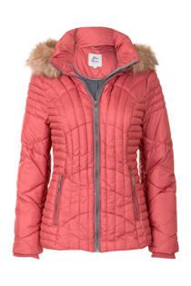 Miss Etam Regulier korte jas met capuchon roze (dames)