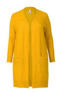 Miss Etam Plus Regulier vest geel (dames)