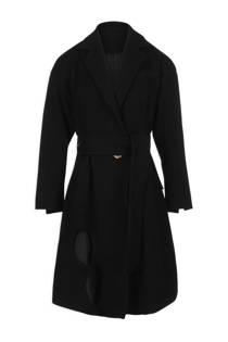 Morgan trenchcoat zwart (dames)