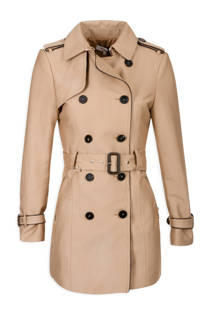 Morgan trenchcoat beige (dames)