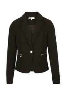 Morgan cropped blazer zwart (dames)