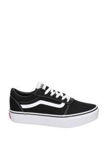 VANS Ward Platform sneakers zwart (dames)