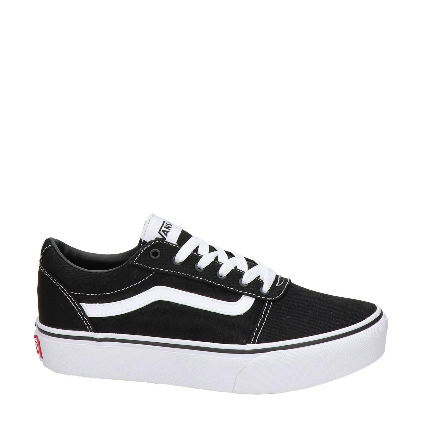 165cbef6527a5e VANS Ward Platform sneakers zwart