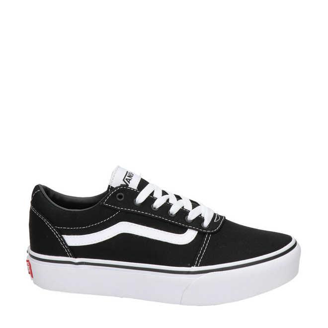 bd3a588eb1ed7b VANS. Ward Platform sneakers zwart