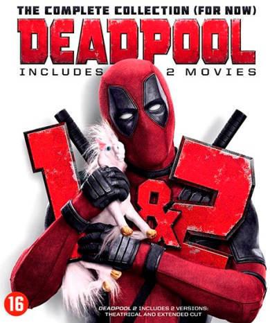 Deadpool 1+2 (Blu-ray)
