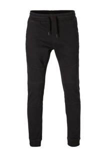 C&A Clockhouse slim fit biker broek donkerblauw  (heren)