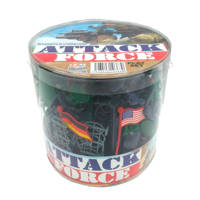 Attack Force speelset 108 stuks