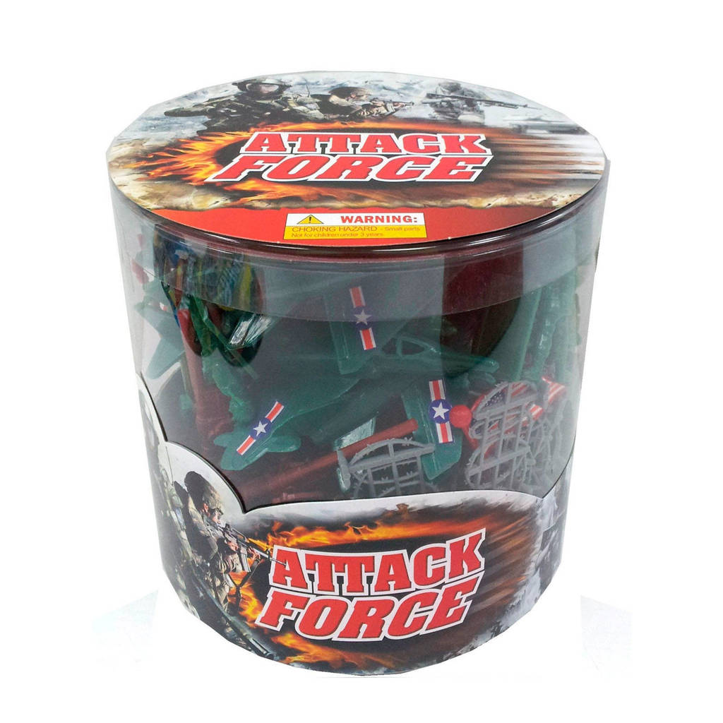 Attack Force speelset 70 stuks