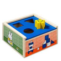 nijntje vormenstoof houten vormenpuzzel 4 stukjes