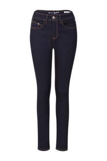 Plus slim fit jeans donkerblauw