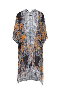 Didi kimono met all over print zwart