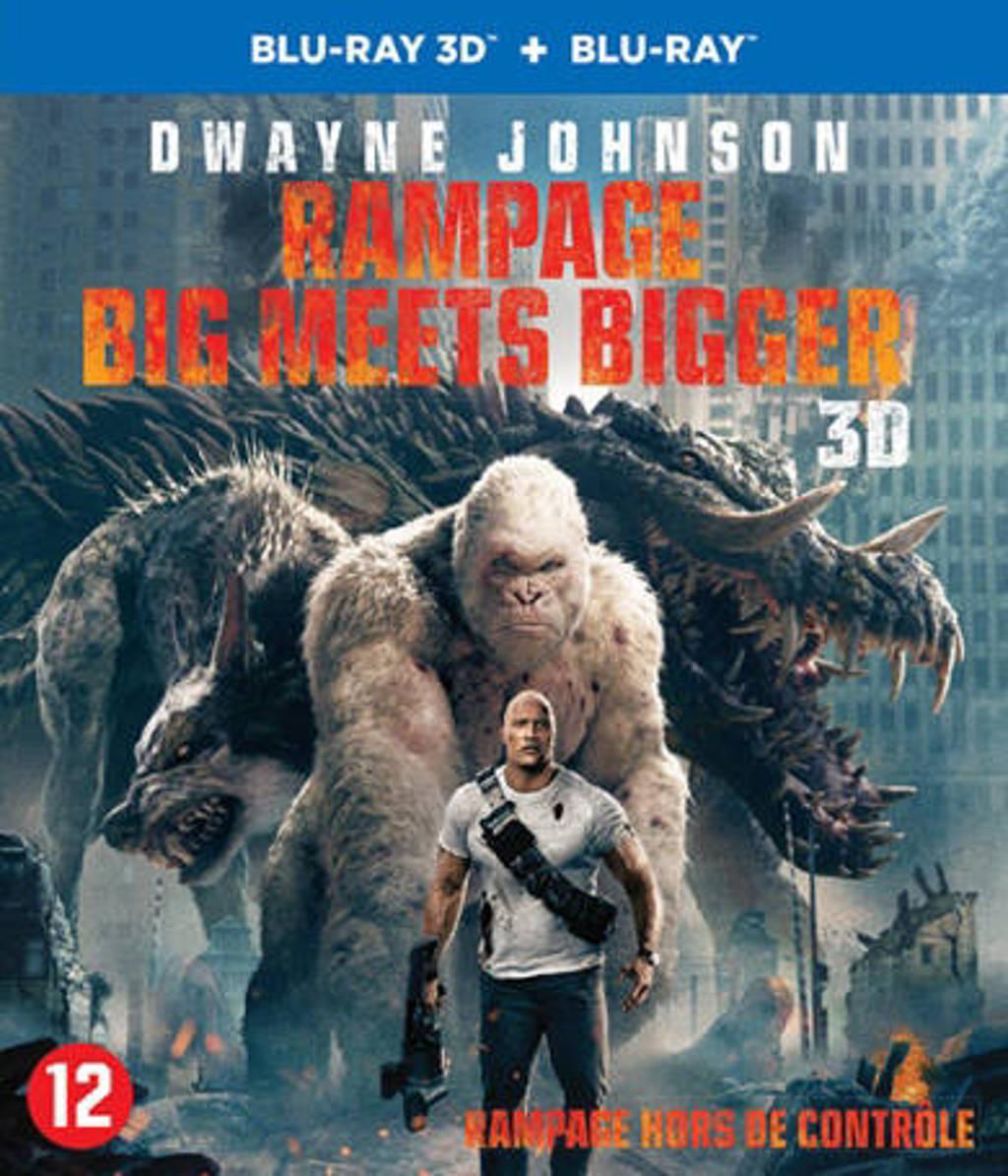 Rampage - Big meets bigger (3D) (Blu-ray)
