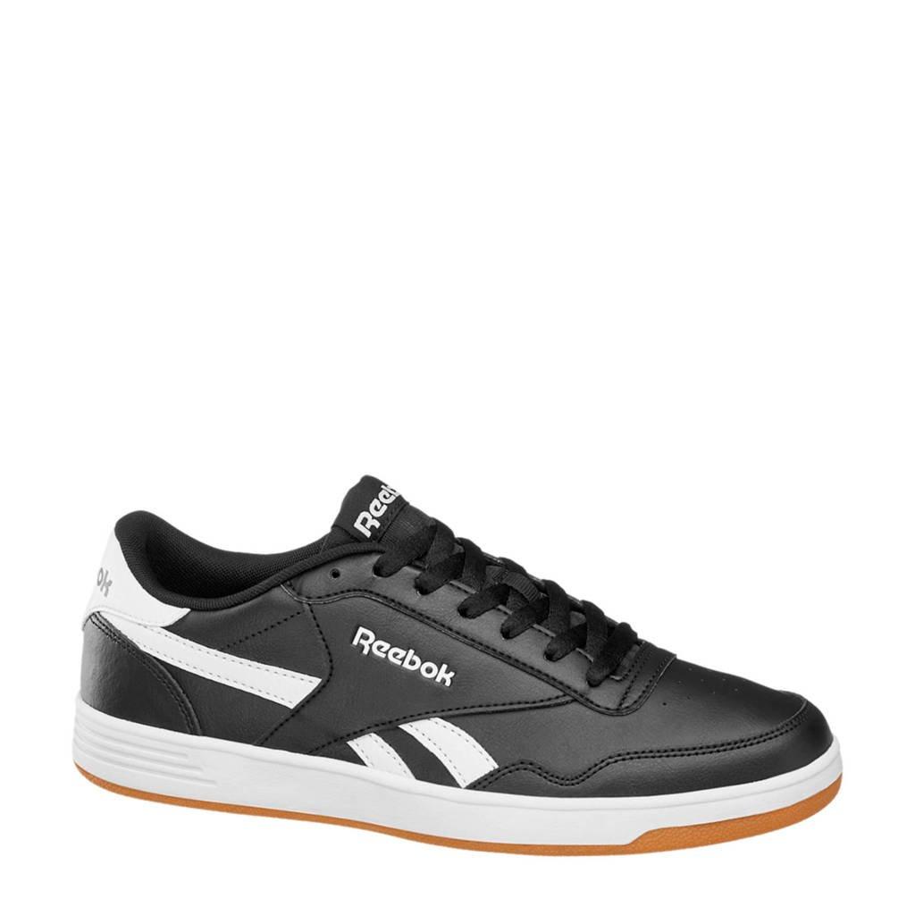 Reebok  Royal Techque T leren sneakers zwart, Zwart
