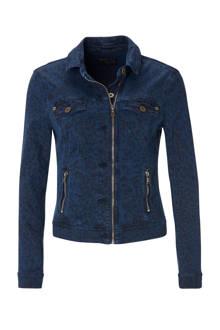 jasje Heri met panterprint donkerblauw