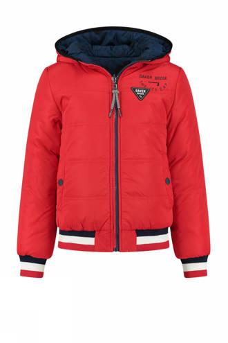 omkeerbare winterjas Randy rood/donkerblauw
