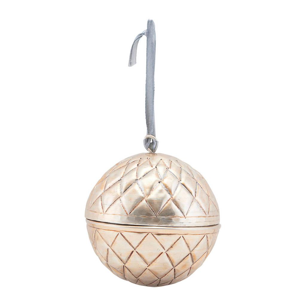 House Doctor kerstbal (Ø8 cm), Goud