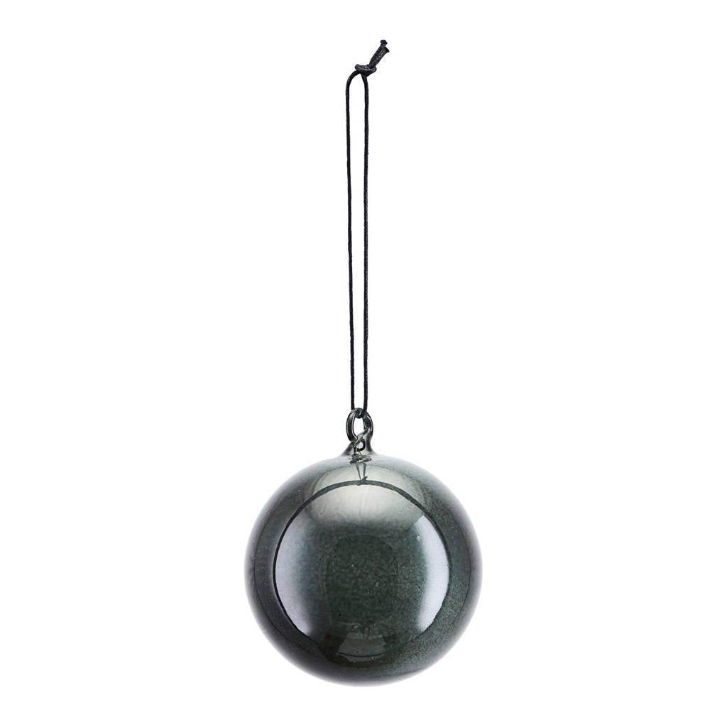 House Doctor kerstbal (Ø8 cm), Antraciet