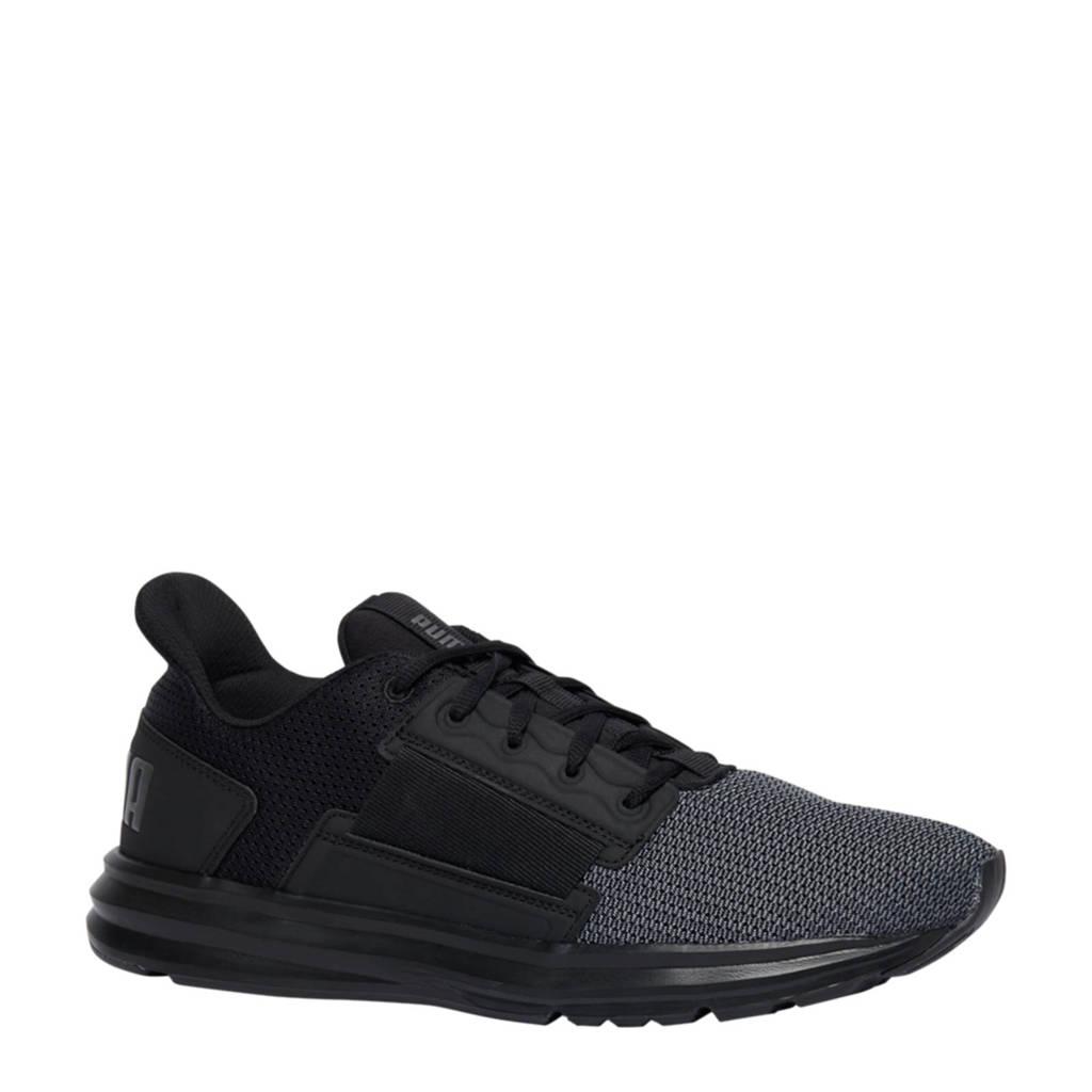 Puma  Eurostreet sneakers zwart, Zwart