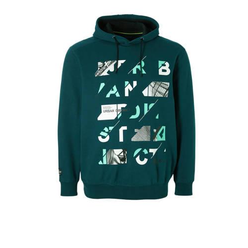 hoodie met printopdruk