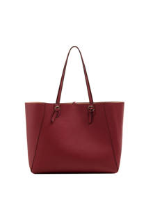 Mango  shopper bordeaux