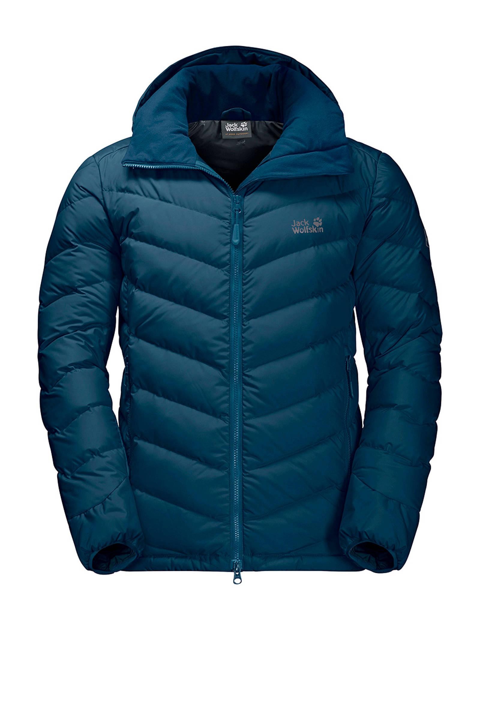 Fairmont blauw lichtgewicht Wolfskin donsjas Jack outdoor Tw65q1