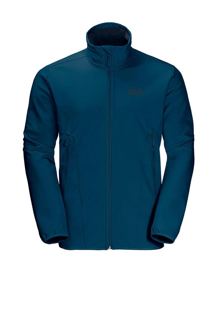 Jack Northern Wolfskin softshell blauw jas Pass rZrqTz