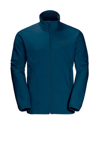 softshell jas Northern Pass blauw