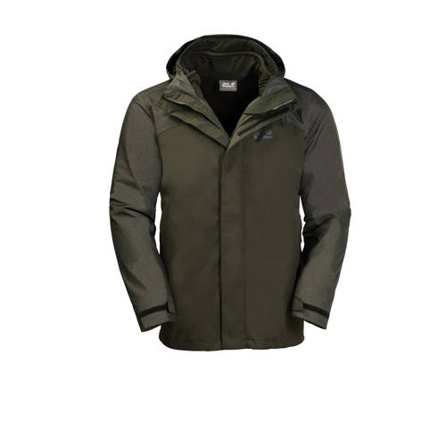 NU 20% KORTING: Jack Wolfskin functioneel 3-in-1-jack echo LAKE
