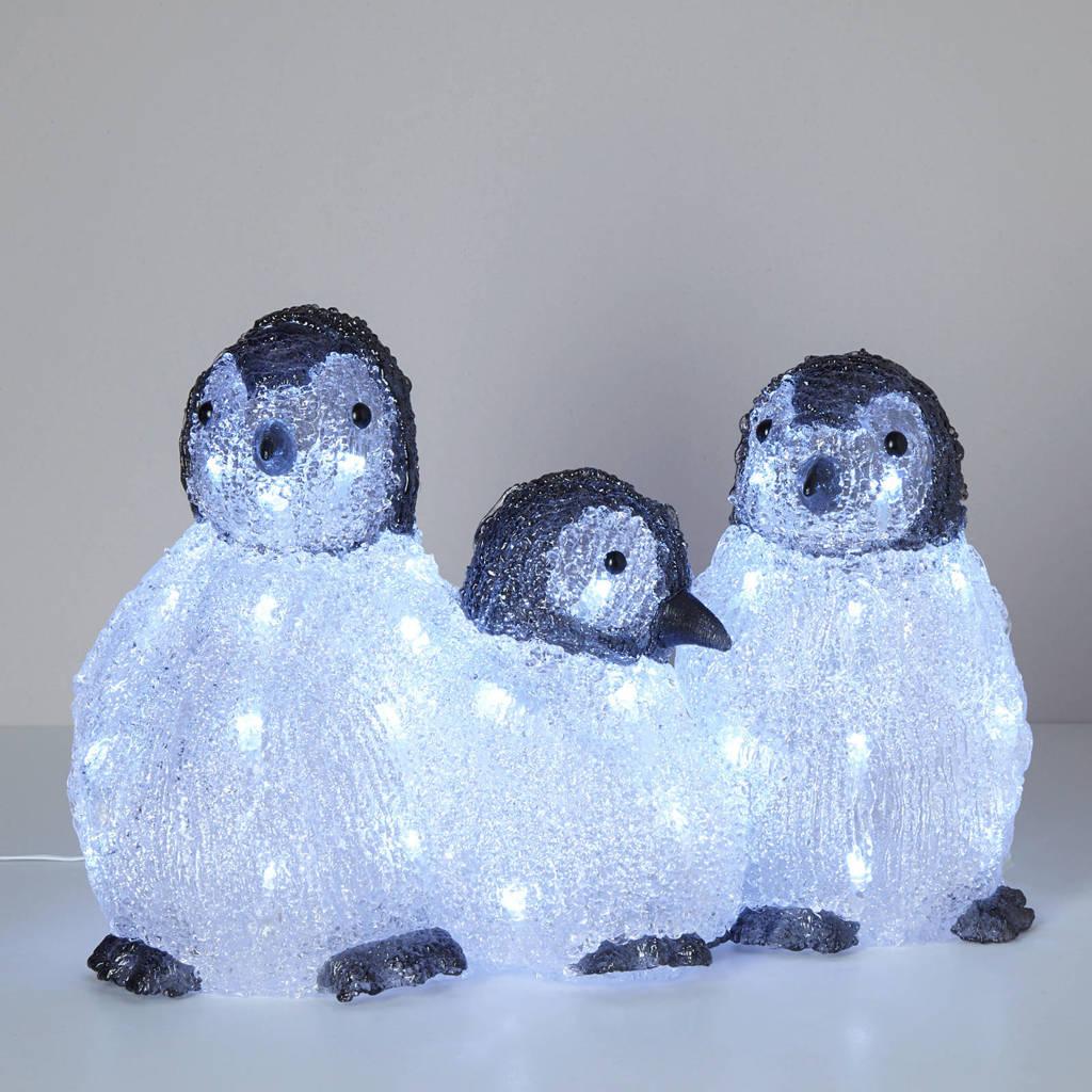 Konstsmide lichtsnoer Pinguins (3-delig), 48