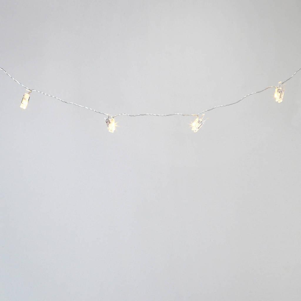 Konstsmide lichtsnoer met knijpers (12 leds)