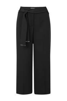 culotte straight fit zwart