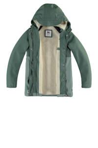 America Today Junior kids gevoerde winterjas Janet groen, Cypress