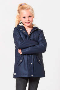 America Today Junior gevoerde winterjas Janet blauw, Donkerblauw