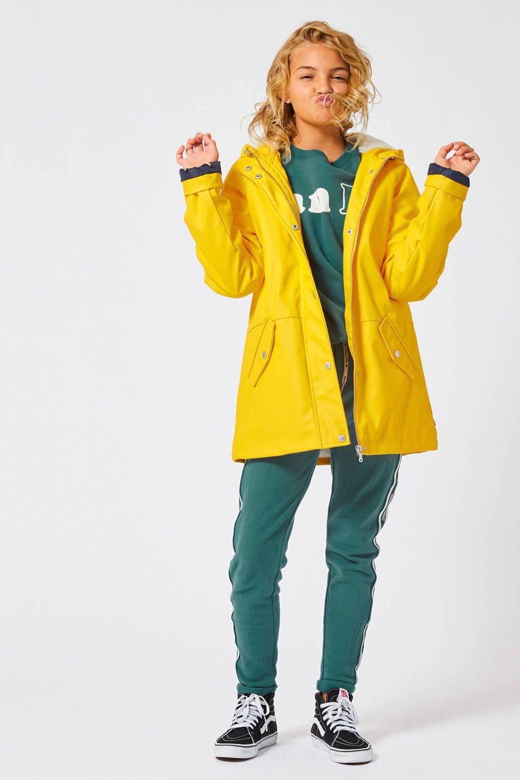 America Today Junior gevoerde winterjas Janet geel, Geel