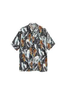 regular fit overhemd met all-over print
