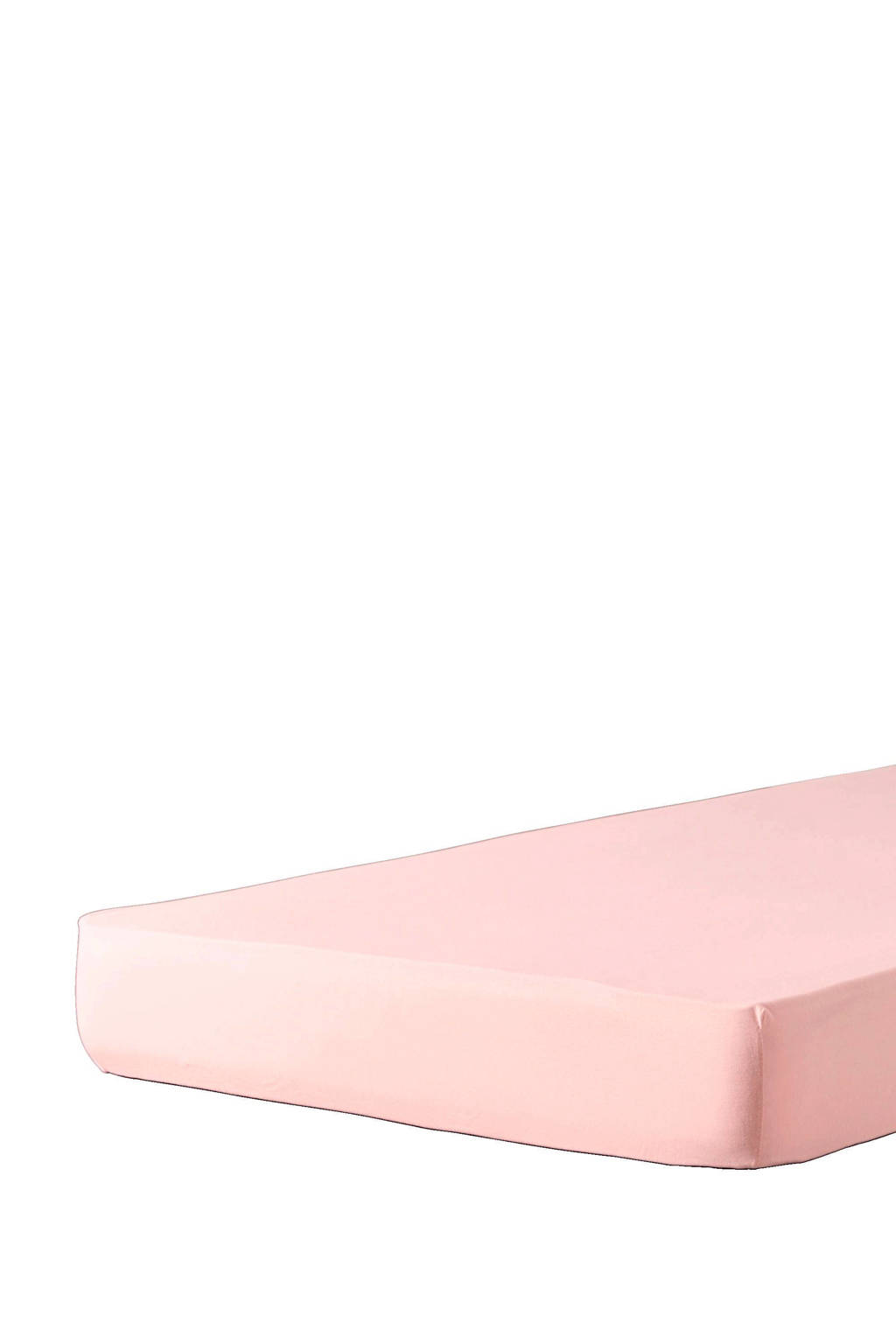 wehkamp home jersey baby hoeslaken ledikant (60x120 cm), Lichtroze