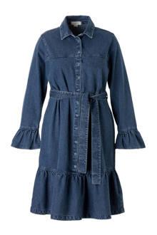 Plus jurk met tailleband