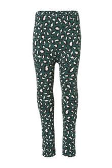 legging Leopard groen